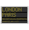 Information led board vector