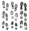 Otisak cipela set 2 vector