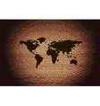 World map web icon flat design vector