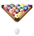 Billiard balls 02 vector