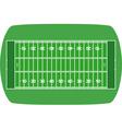 American soccer field vector