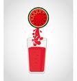 Juice fruit vector