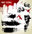 Scary textures vector