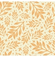 Golden leaves seamless pattern background vector