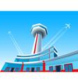 Aircraft airport vector