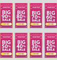 Big sale big sale best offer badge sticker vector