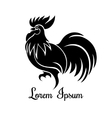 Rooster logo vector