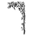 Branch with leaves vector