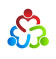 Business logo design sharing 3 vector