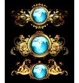 World frames set vector