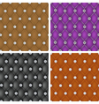 Set of upholstery seamless pattern vector