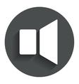 Speaker volume sign icon sound symbol vector