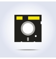 Diskette icon vector