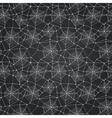 Black spider web doodle seamless halloween vector