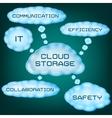 Cloud storage vector