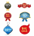 Sale off tag icon vector