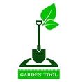 Garden tool sign vector
