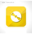 Dvd cd icon vector