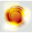 Abstract circle banner logo design template vector