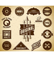 Vintage labels collection 8 vector