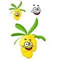 Happy bunch of berries vector