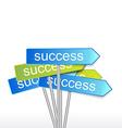 Success indicator vector