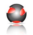 Light ball logo vector