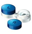 Contact lenses vector