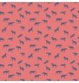 Horse runs hops gallops isolated seamless pattern vector