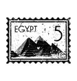 Egypt print icon vector