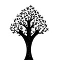 Abstract tree on white background vector