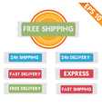 Free delivery logistic advertising - - eps1 vector