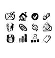 Sketch web icons vector