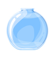 Empty elixir bottle vector