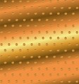 Abstract golden dotted background vector