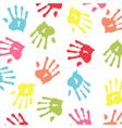 Baby handprint wallpaper vector