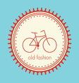 Bike retro pecat resize vector