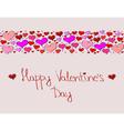 Hand-drawn valentines day decorative background vector