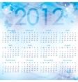 Calendar 2012 vector