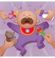 Baby cartoon vector