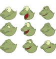 Set of tadpoles cartoons vector