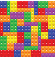 Lego blocks construction vector