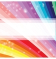 Abstract futuristic colored rainbow background vector