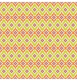 Seamless retro background in modern ikat pattern vector