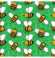 Cartoon bees vector