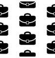 Portfolio symbol icon seamless pattern vector