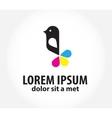 Bird logo logo design template for printing vector