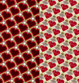 Hearts and diamonds vector