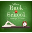 Back to school background template eps 10 vector
