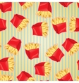 Fast food seamless pattern background vector